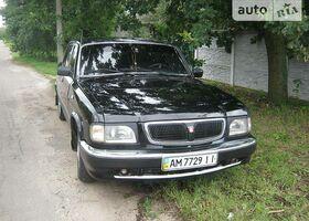 Черный ГАЗ 3110, объемом двигателя 2.3 л и пробегом 223 тыс. км за 2350 $, фото 1