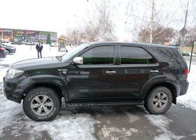 Черный Тойота Фортунер, объемом двигателя 2.7 л и пробегом 150 тыс. км за 15800 $, фото 1
