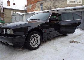 Черный БМВ 5 Серия, объемом двигателя 2.5 л и пробегом 300 тыс. км за 1800 $, фото 1