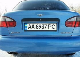 Синий Дэу Ланос, объемом двигателя 1.5 л и пробегом 137 тыс. км за 3999 $, фото 1
