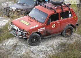 Красный ВАЗ 2121, объемом двигателя 1.6 л и пробегом 84 тыс. км за 2000 $, фото 1