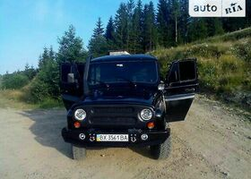 Черный УАЗ 31512, объемом двигателя 2.5 л и пробегом 15 тыс. км за 10000 $, фото 1