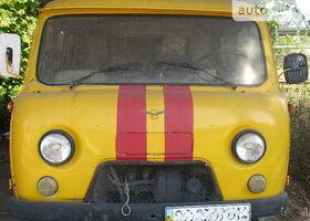 Желтый УАЗ 3909, объемом двигателя 2.45 л и пробегом 36 тыс. км за 2333 $, фото 1