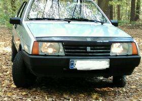 Серебряный ВАЗ 21099, объемом двигателя 1.5 л и пробегом 200 тыс. км за 2800 $, фото 1