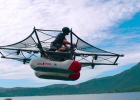 Kitty Hawk Flyer: летающий «автомобиль» от Ларри Пейджа показан в действии (видео)