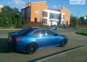 Синій Хонда Аккорд, объемом двигателя 2.4 л и пробегом 185 тыс. км за 8500 $, фото 1