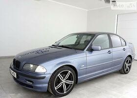 Синий БМВ 3 Серия, объемом двигателя 1.9 л и пробегом 315 тыс. км за 2700 $, фото 1
