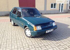 Зеленый ЗАЗ 1103 Славута, объемом двигателя 1.2 л и пробегом 1 тыс. км за 1500 $, фото 1