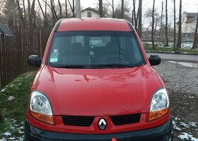 Красный Рено Кенгу пасс., объемом двигателя 1.5 л и пробегом 250 тыс. км за 5200 $, фото 1