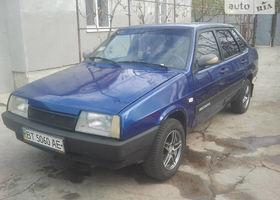 Синий ВАЗ 21099, объемом двигателя 15 л и пробегом 170 тыс. км за 2150 $, фото 1