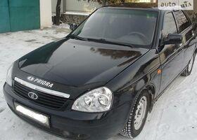 Чорний ВАЗ 2170, объемом двигателя 1.6 л и пробегом 92 тыс. км за 4200 $, фото 1