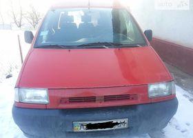 Красный Фиат Скудо груз., объемом двигателя 2 л и пробегом 160 тыс. км за 5000 $, фото 1