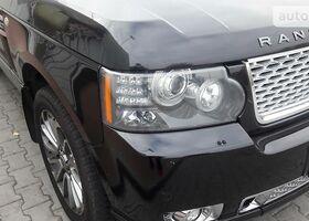 Черный Ленд Ровер Рендж Ровер, объемом двигателя 3.6 л и пробегом 180 тыс. км за 23000 $, фото 1