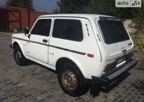 Білий ВАЗ 2121, объемом двигателя 1.6 л и пробегом 1 тыс. км за 1600 $, фото 1