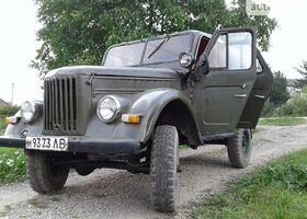 Зеленый ГАЗ 69, объемом двигателя 2.4 л и пробегом 3 тыс. км за 1212 $, фото 1
