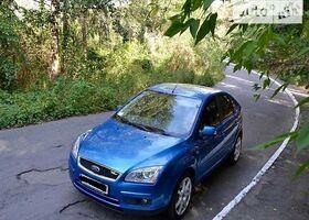 Синий Форд Фокус, объемом двигателя 1.6 л и пробегом 220 тыс. км за 6999 $, фото 1