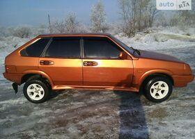 Золотой ВАЗ 2109, объемом двигателя 1.3 л и пробегом 90 тыс. км за 1750 $, фото 1