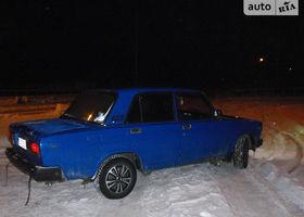 Синій ВАЗ 2107, объемом двигателя 15 л и пробегом 260 тыс. км за 1150 $, фото 1