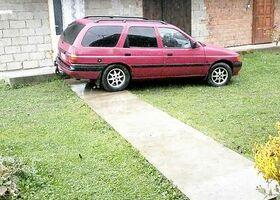Червоний Форд Ескорт, объемом двигателя 1.6 л и пробегом 200 тыс. км за 2200 $, фото 2