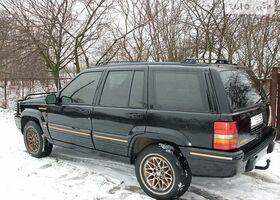 Чорний Джип Grand Cherokee, объемом двигателя 0.05 л и пробегом 270 тыс. км за 7000 $, фото 1