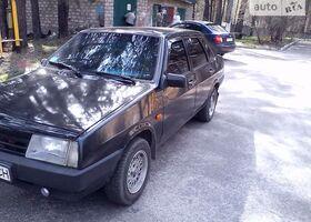 Черный ВАЗ 21099, объемом двигателя 1.5 л и пробегом 132 тыс. км за 2800 $, фото 26
