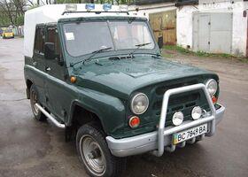 Зеленый УАЗ 469Б, объемом двигателя 2.4 л и пробегом 100 тыс. км за 2800 $, фото 1