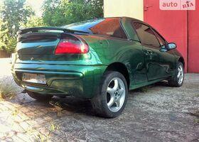 Зеленый Опель Тигра, объемом двигателя 1.4 л и пробегом 149 тыс. км за 4600 $, фото 1