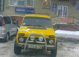 Желтый ВАЗ 2121, объемом двигателя 1.6 л и пробегом 50 тыс. км за 1300 $, фото 1