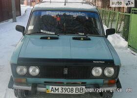 Голубой ВАЗ 2106, объемом двигателя 1 л и пробегом 58 тыс. км за 1300 $, фото 1