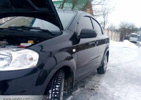 Черный Шевроле Авео, объемом двигателя 1.5 л и пробегом 85 тыс. км за 5300 $, фото 1
