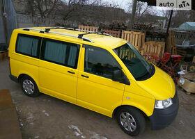 Жовтий Фольксваген Т (Транспортер), объемом двигателя 1.9 л и пробегом 272 тыс. км за 10900 $, фото 1