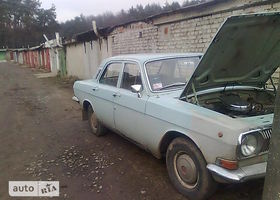 Синій ГАЗ 24-10 Волга, объемом двигателя 2.4 л и пробегом 100 тыс. км за 520 $, фото 1