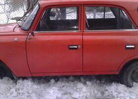 Красный Москвич / АЗЛК 412, объемом двигателя 15 л и пробегом 54 тыс. км за 450 $, фото 1