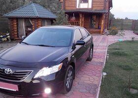 Черный Тойота Камри, объемом двигателя 2.4 л и пробегом 118 тыс. км за 13500 $, фото 1