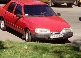 Красный Форд Сиерра, объемом двигателя 1.8 л и пробегом 1 тыс. км за 1900 $, фото 1