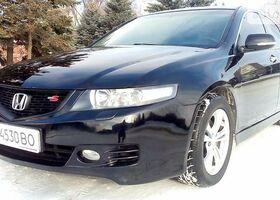 Чорний Хонда Аккорд, объемом двигателя 2.4 л и пробегом 152 тыс. км за 8600 $, фото 1