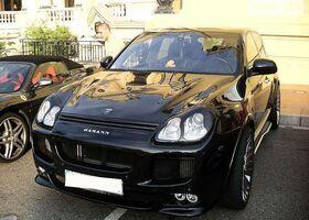 Чорний Порше Cayenne Turbo, объемом двигателя 4.51 л и пробегом 45 тыс. км за 29654 $, фото 1