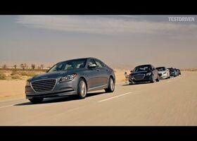 Hyundai - Конвой з машин без водіїв!