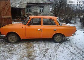 Апельсин Москвич / АЗЛК 412, объемом двигателя 1.5 л и пробегом 97 тыс. км за 396 $, фото 1