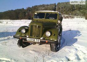 Оливковый ГАЗ 69, объемом двигателя 2 л и пробегом 1 тыс. км за 1500 $, фото 1