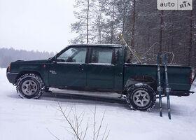 Зелений Міцубісі Л 200, объемом двигателя 2.5 л и пробегом 290 тыс. км за 3500 $, фото 1