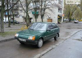 Зеленый ЗАЗ Таврия-Нова, объемом двигателя 1.2 л и пробегом 93 тыс. км за 1250 $, фото 1