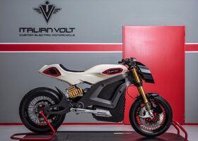Italian Volt создала роскошный электромотоцикл Lacama с запасом хода 200 км
