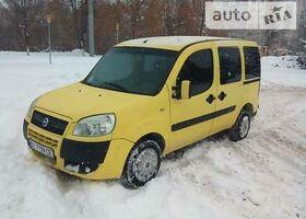 Жовтий Фіат Добло вант., объемом двигателя 1.6 л и пробегом 186 тыс. км за 5800 $, фото 1