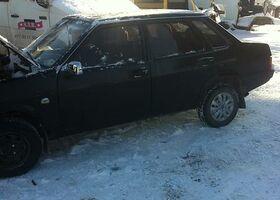 Черный ВАЗ 21099, объемом двигателя 1 л и пробегом 250 тыс. км за 2000 $, фото 1