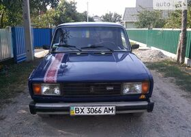 Синій ВАЗ 2105, объемом двигателя 1.3 л и пробегом 1 тыс. км за 1100 $, фото 1