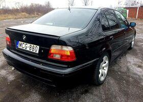Чорний БМВ 5 Серія, объемом двигателя 3 л и пробегом 292 тыс. км за 6000 $, фото 10