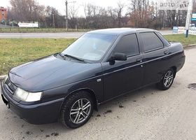 Чорний ВАЗ 2110, объемом двигателя 1.6 л и пробегом 200 тыс. км за 3300 $, фото 1
