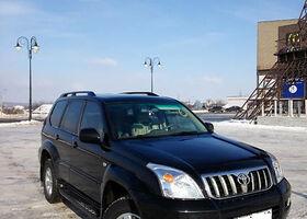 Черный Тойота Ленд Крузер Прадо 120, объемом двигателя 4 л и пробегом 147 тыс. км за 22699 $, фото 1