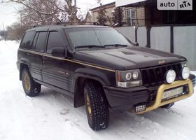 Чорний Джип Grand Cherokee, объемом двигателя 0.04 л и пробегом 280 тыс. км за 6800 $, фото 1
